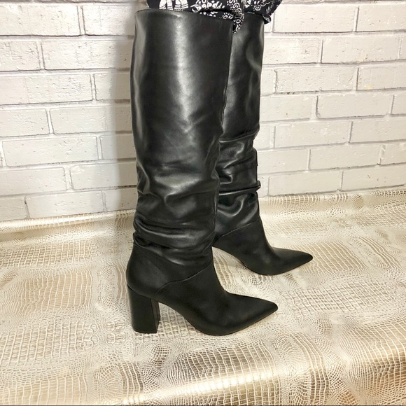 0cd5eb5a6ae Steve Madden Norie Black Leather Boots